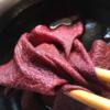 絹のソヨゴ染