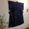 絵絣着物の展示